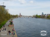 Main river in Frankfurt ©2017 Regina Martins