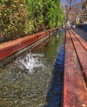 More water feature pics at The Zone in Rosebank ©2017 Regina Martins