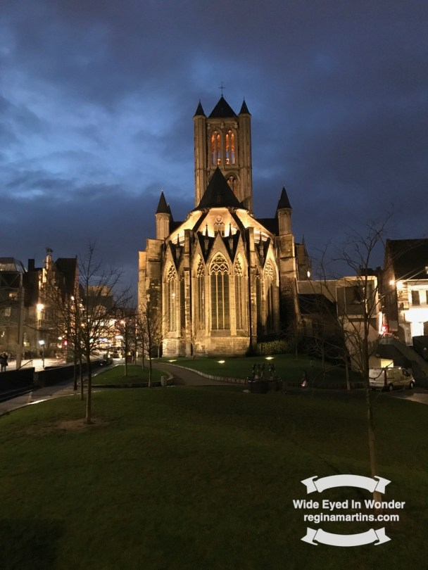 A to Z challenge Ghent