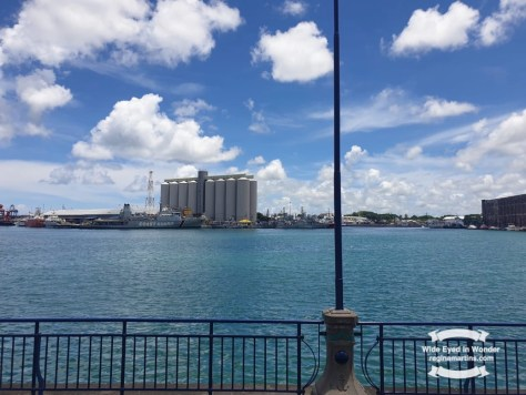 blogging from A to Z Port Louis
