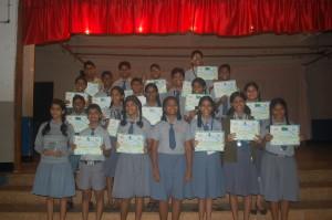 JCI competitions in Ravindra Bhavan