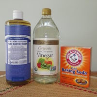 Dr. Bronner's liquid soaps are concentrates, so you save money using them. Just add water, as instructed on the label.