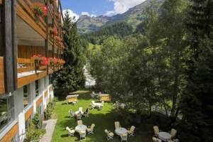 Garten und Umgebung im Hotel Regina Terme