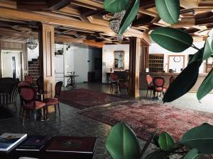 Eingangshalle im Hotel Regina Terme