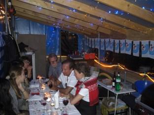 Candlelight Dinner 1, Plaudereien