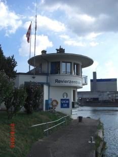 Aussenanzeige Pegelstand Rheinhalle und UKW Kanal