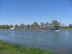 Tankschiff auf dem Grand Canal d'Alsace