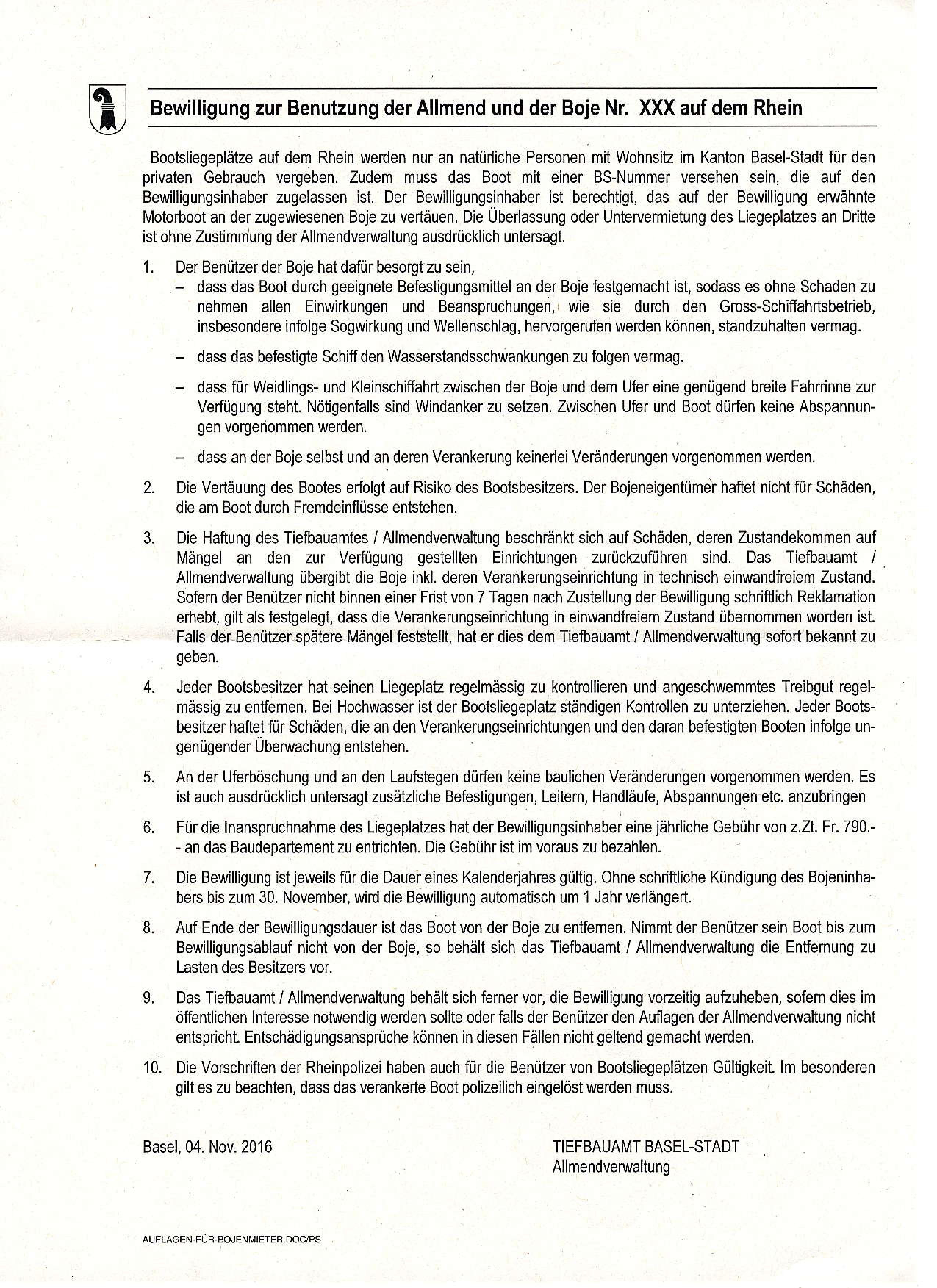 bereitgestellt gemäss IDG Zugangsgesuch 17.10.2016