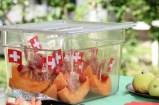 Melonenschiffchen mit Seranofracht