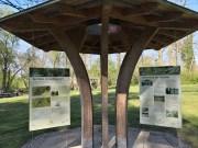 Info-Pavillion seit 03.05.2012, Restrhein Rkm 175.3 RU