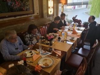 China Restaurant Rheinpark Weil. Abendessen GV Regioboot 2019