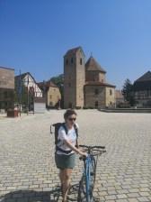 Westansicht Abteikirche Ottmarsheim