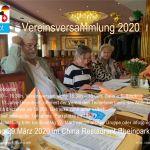 A4 Flyer Einladung Regioboot Vereinsversammlung 29.03.2020