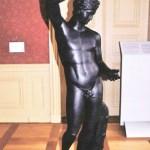 Eisenkunstgussfiguren im Schlosspark Wolkenburg