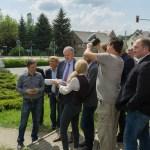 Staatsminister Thomas Schmidt zu Besuch im Schönburger Land, Callenberg, Sanierung Alte Schule