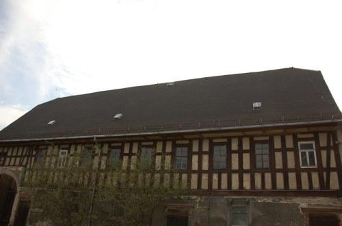 Ansicht des Hauses vor der Sanierung