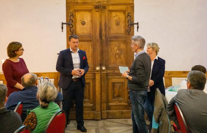 Moderationsrunde bei der Regionalkonferenz im Schönburger Land, 2018