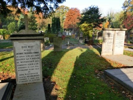 Vak C met Katholieke eigen graven. Licentie CC-BY. Foto: Regionaal Archief Alkmaar