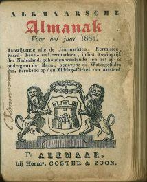 alkmaarsche-almanak-1885-titelpagina