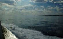 Heading for our last site on Port Phillip Bay