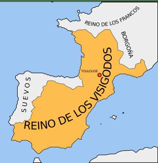 Reino Visigodo de Tolosa, precedente del Reino Visigodo de Toledo