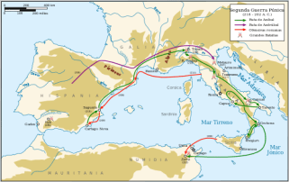 Segunda Guerra Púnica (Cartago vs. Roma)