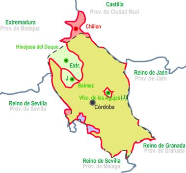 Cordoba_1833_reinos-provincias