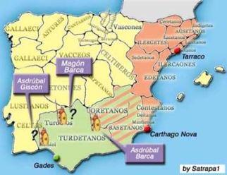 El general cartaginés Magón Barca probablemente contribuyó a la conquista de los túrdulos
