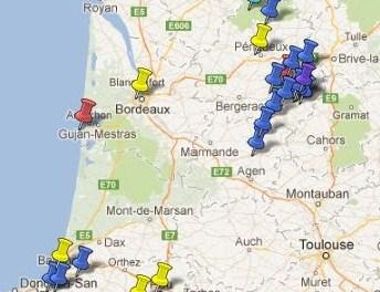Villes et Villages Classés Aquitaine