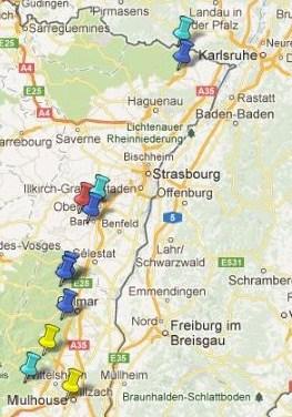 Villes et Villages Classés en Alsace