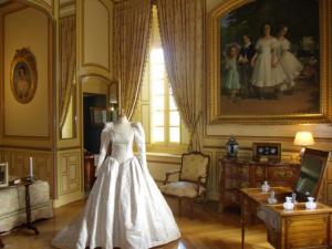 Château de Cheverny la chambre des mariés