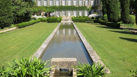 Jardin du Château de Brantes