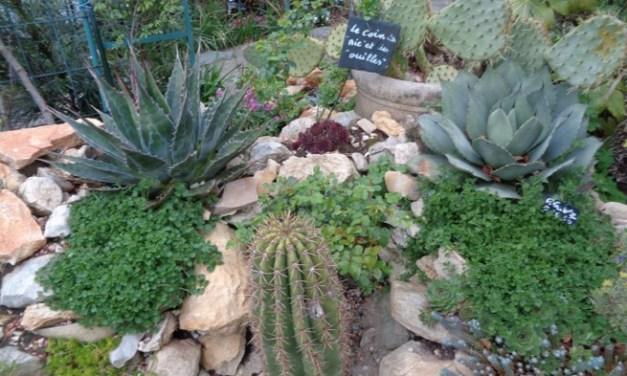 Jardin duClos Fleuri dans la Drôme