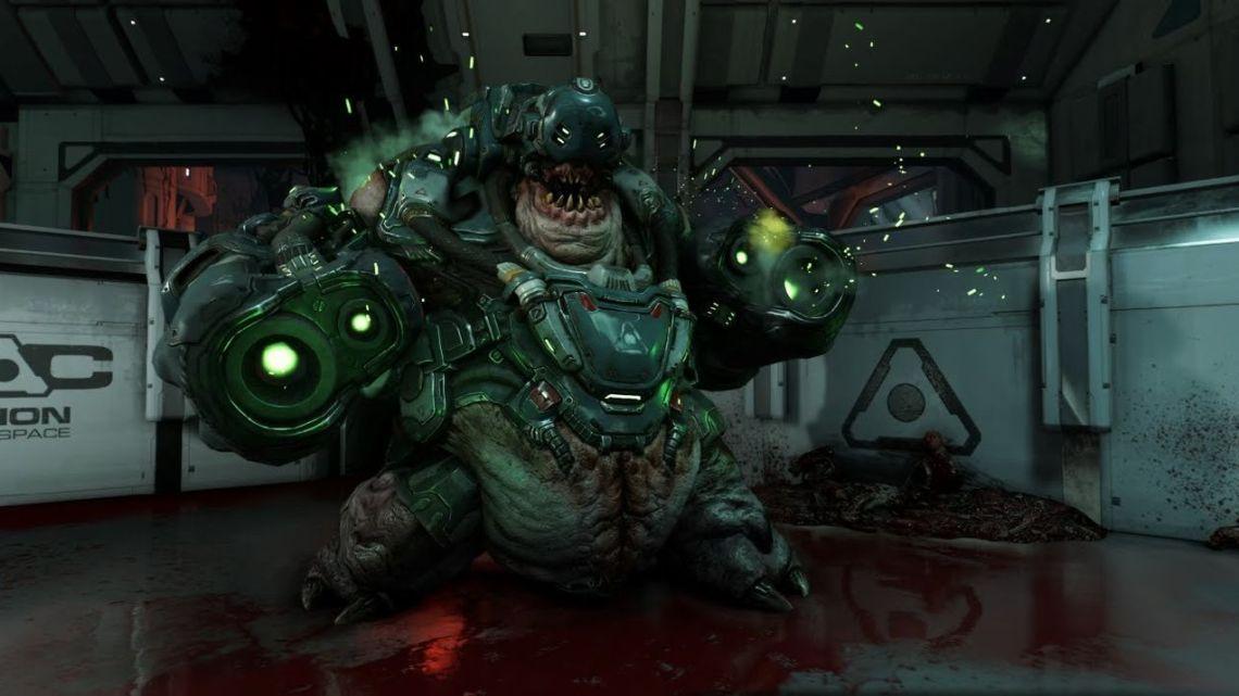 Armas, demonios y velocidad en el último tráiler de DOOM