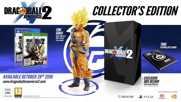 Detallada la edición coleccionista y edición deluxe de Dragon Ball Xenoverse 2