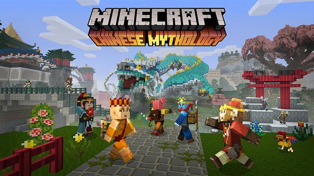Tráiler del pack de mitología china de Minecraft