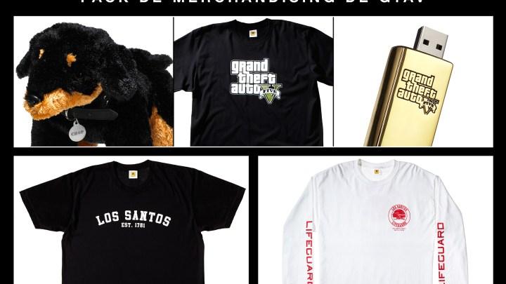 ¿Quieres ganar uno de estos packs de productos oficiales de Gran Theft Auto V?