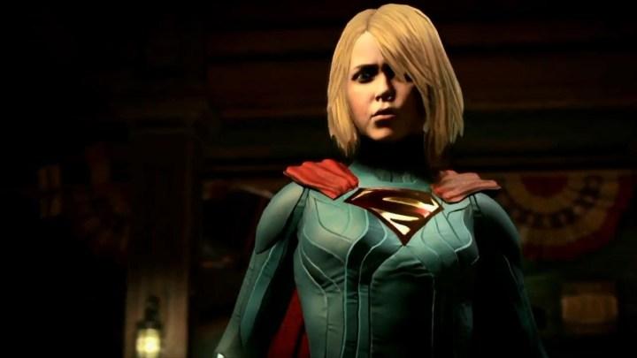 Injustice 2 muestra a SuperGirl en un nuevo gameplay