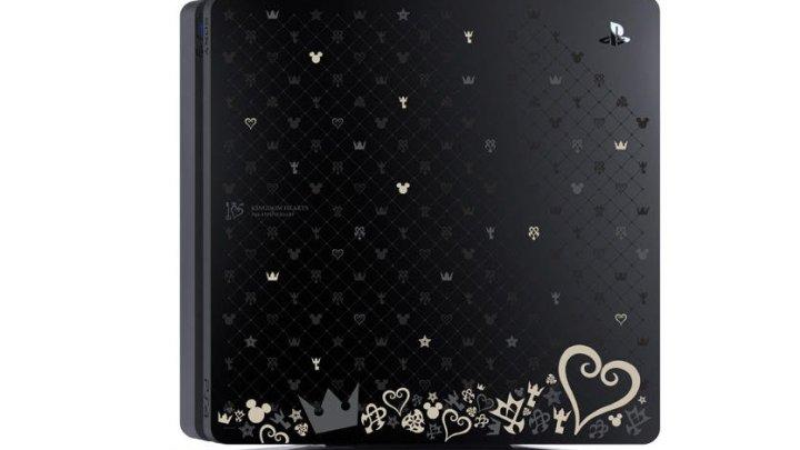 Anunciada la Playstation 4 Slim especial Kingdom Hearts