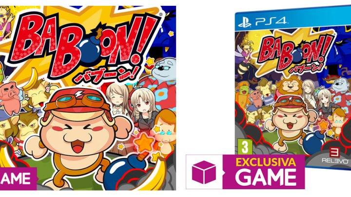 Baboon! ya a la venta en formato físico para PlayStation 4 solo en GAME