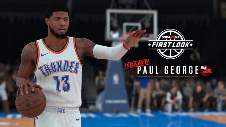 Primeras imágenes oficial de NBA 2K18 muestran a Paul George, Damar DeRozan e Isaiah Thomas