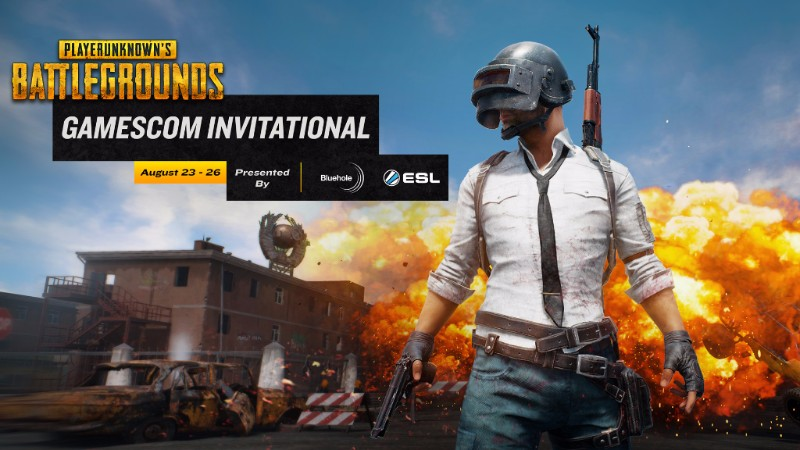 Bluehole y ESL anuncian un Invitacional de PLAYERUNKNOWN'S BATTLEGROUNDS en Gamescom