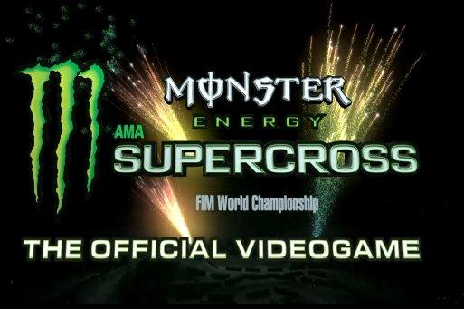 Monster Energy Supercross contará con juego oficial