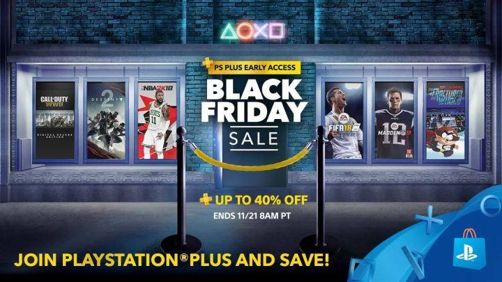 El Black Friday empezará antes en la PS Store USA para los usuarios de PlayStation Plus   Descuentos de hasta el 40%
