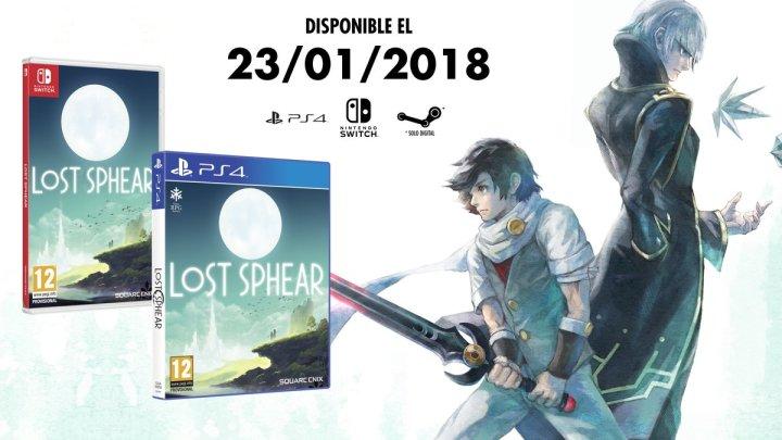 Lost Sphear tendrá una versión física en su lanzamiento para PlayStation 4