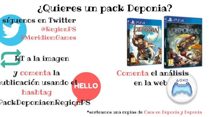 ¡Sorteamos una copia e Deponia y Caos en Deponia para PlayStation 4!
