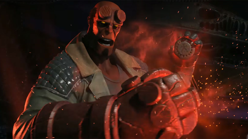 RegiónTV | Gameplay: Injustice 2 Hellboy
