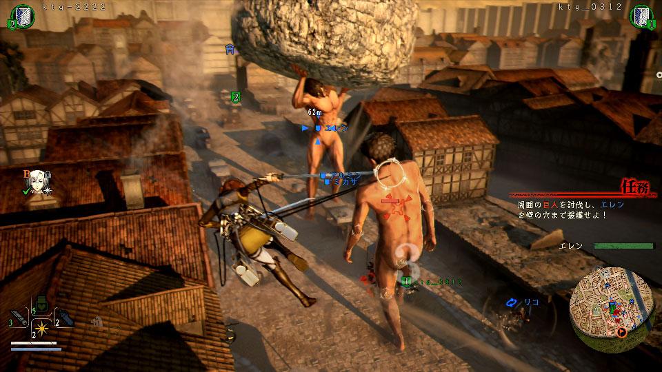 A.O.T. 2 | Nuevo gameplay nos muestra cómo derrotar a un Titán de un sólo golpe