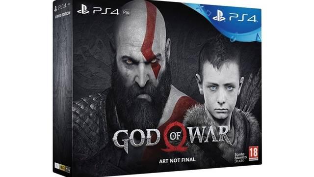 Filtrado el lanzamiento de un pack de God of War con PlayStation 4 Pro