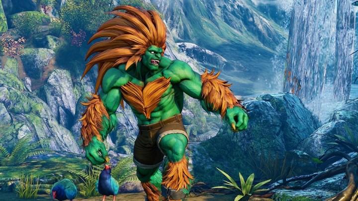Blanka, el guerrero del Amazonas, llega a Street Fighter V: Arcade Edition